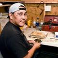Navajo Jewelry Artist Garrison Boyd 26439