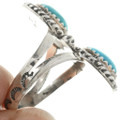 Two Stone Turquoise Ring 20046