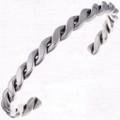Navajo Twist Silver Cuff Bracelet 24672