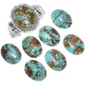 Natural Variations in Number 8 Turquoise Stones 25162