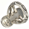 Navajo Gemstone Sterling Ring 25930