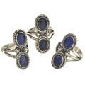 Lapis Gemstone Navajo Jewelry  25930
