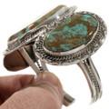 Kingman Turquoise Sterling Bracelet Cuff 30654