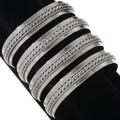 Navajo Unisex Silver Cuff Bracelet 12731