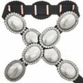 Navajo Silver Concho Belt 22938