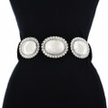Traditional Silver Concho Belt 22938
