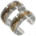 Silver Gold Southwest Bracelet 10780