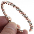 Navajo Copper Cuff Bracelet 82515