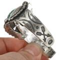 Navajo Turquoise Cuff Bracelet 24320