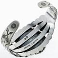 Sterling Turquoise Native American Bracelet 24320