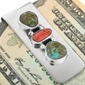 Native American Silver Money Clip 11605