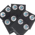 Navajo Turquoise Earrings 23448