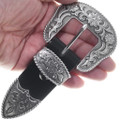 Antiqued Silver Ranger Belt Buckle 22775