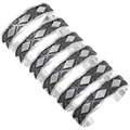 Heavy Gauge Silver Mens Bracelet 26111