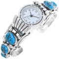 Ladies Turquoise Watch Bracelet 24482