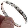 Affordable Silver Southwest Bracelet 23477