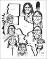 Native American Indians Art Print 17207
