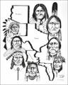 Native American Indians Art Print 17207