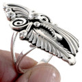 Native American Leaf and Swirl Ring 22205