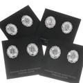 Southwest Concho Stud Earrings 20731