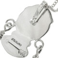 Sterling Feather Southwest Pendant 22654