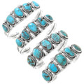 Genuine Turquoise Handcrafted Silver Bracelet 21127