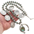 Handcrafted Silver Squash Blossom 22969