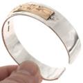 Navajo Hammered Gold Bracelet 14807