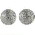 Whirlwind Concho Pattern Cuff Links 20887