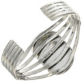 Sterling Silver Ladies Split Band Cuff 14616