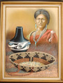 Native American Heritage Oil Painting 21108