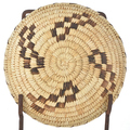 Tohono O'odham Indian Tray Basket 18589
