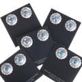 Navajo Turquoise Post Earrings 20657