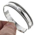Native American Silver Bracelet 22335