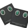 Native American Malachite Western Earrings 22037
