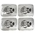 Sterling Silver Bear Claw Belt Buckle 23067