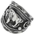 Native American Buffalo Ring 22532