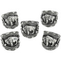 Silver Buffalo Ring 22532