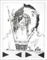 Native American Peyote Visions Art Print 21110