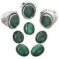 Genuine Malachite Stone Jewelry 25943