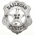 Union Pacific Railroad Police Badge 17588