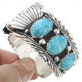 Native American Turquoise Western Watch Bracelet 23462