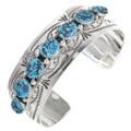 Navajo Turquoise Cuff Bracelet 18392