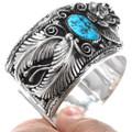 Navajo Bear Claw Turquoise Bracelet 15893