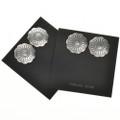 Southwest Western Silver Earrings 20757