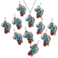 Southwest Turquoise Coral Jewelry 26438