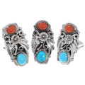 Pretty Navajo Ladies Rings 24587