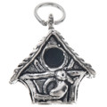 Sterling Silver Birdhouse Charm 35450