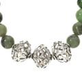 Southwest Silver Gemstone Necklace 22243