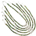 Green Bead Southwest Necklace 22243